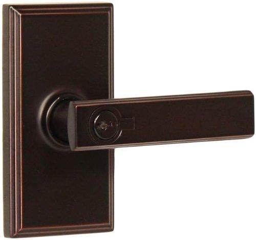 (Weslock 03740P1P1SL23 Utica Lever, Oil-Rubbed Bronze)