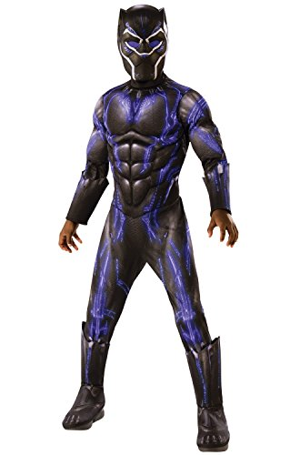 Rubie's Deluxe Black Panther Child's Costume, Blue, Small