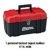 Master Lock Lockout Tagout Kit, Red, 0.25