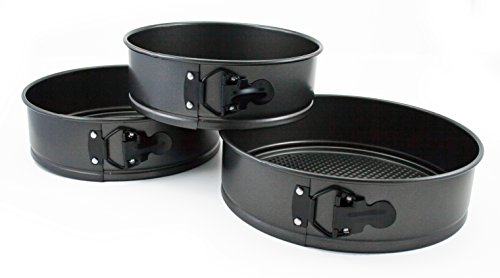 Oneida 3pc Non-Stick Springform Pan Set (Spring Non Stick Pan)