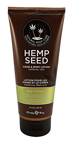 Earthly Body Lotion Nag Champa 7Oz Tube ()