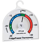 Fridge or Freezer thermometer with 70mm dial
