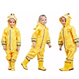 SSAWcasa One Piece Rain Suit Kids,Unisex Toddler