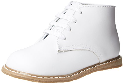 Baby Deer High Top Leather First Walker (Infant/Toddler),White,4 M US Toddler