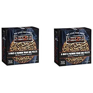 A-MAZE-N - 2 lbs - Alder Wood Pellets 2 Pack from epic A-MAZE-N