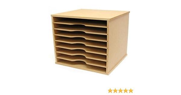 Kaisercraft Beyond The Page MDF Scrapbooking Paper Storage Unit: Amazon.ca:  Home U0026 Kitchen