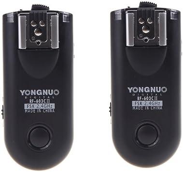 JJC 100m trigger radio per Canon EOS 60d 70d 100d 300d 350d 400d 450d 500d 550d