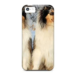XiFu*MeiNew Style ConnieJCole Russian Snow Dogs Premium Tpu Cover Case For Iphone 5cXiFu*Mei