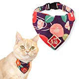 Necoichi Kimono Cat Bandana Collar