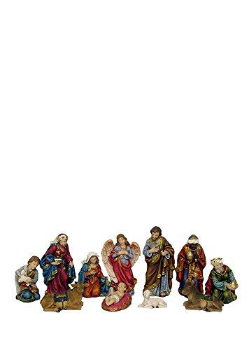 Hi-Line Gift Ltd 81859 11-Piece Christmas Nativity Scene Decor