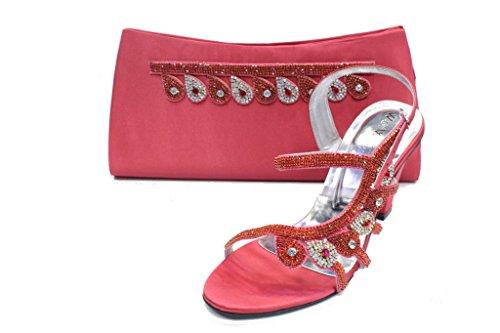 pour multicolore multicolore Sandales Corail Wear UK amp; Walk femme cnwqxn4ZIp