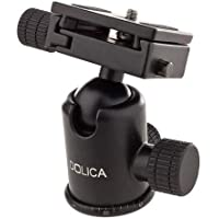 Dolica B103 Pro Level Tripod Ball Head, Black, compact