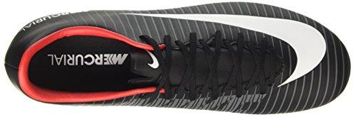Nike Mercurial Victory Vi Fg, Scarpe per Allenamento Calcio Uomo Nero (Black/White/DK Grey/Univ Red)