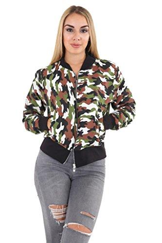 Islander Islander Fashions Femme Camouflage Islander Femme Fashions Blouson Fashions Camouflage Blouson EqO6xRg7