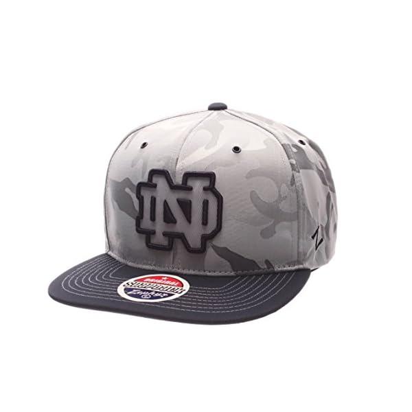 de9c63b19a86d Zephyr NCAA Notre Dame Fighting Irish Adult Men s Brigade Snapback ...