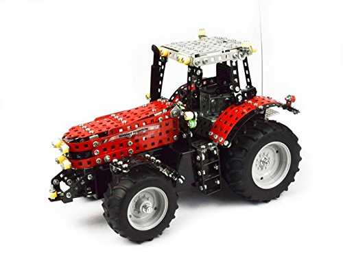 Tronico 10084 - Metallbaukasten funkferngesteuerter Traktor MF-8690, Maßstab 1:16, R/C mit 4 Kanälen