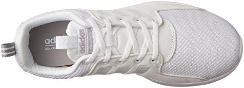 Chaussure De Course Adidas Neo Mens Cf Lite Racer Blanc / Blanc / Clair Onix