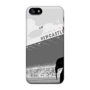Protective Tpu Case With Fashion Design For Iphone 5/5s (the Famous Football Team Newcastle United)