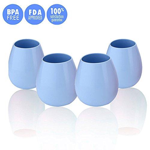 Light Blue Milk Glass - 7