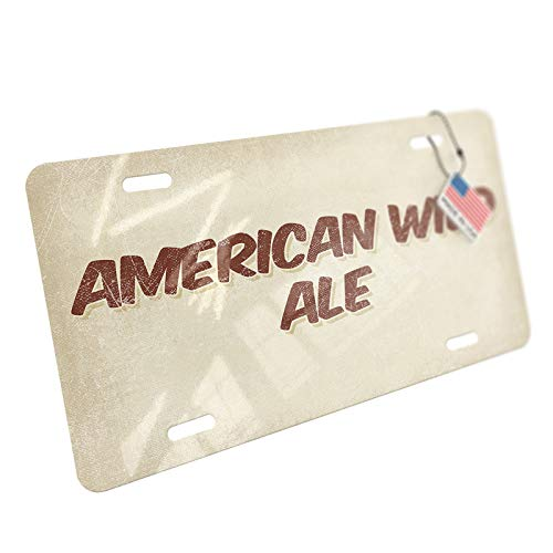 (NEONBLOND American Wild Ale Beer, Vintage Style Aluminum License Plate)