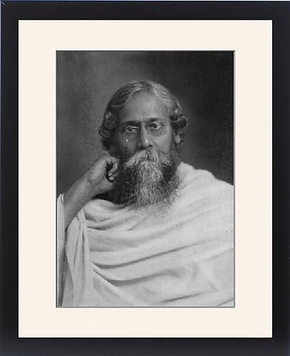 Framed Print Of Rabindranath Tagore