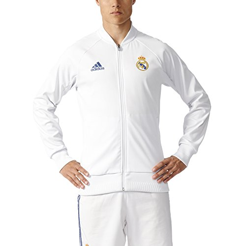 adidas Men's Real Madrid Anthem Track Jacket (L)