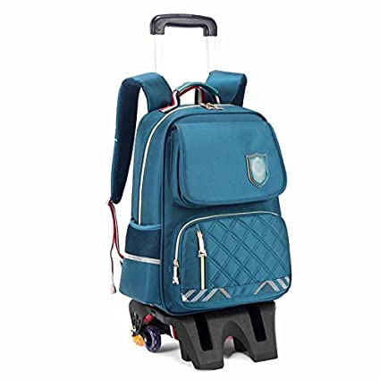 58d65d393f81 Amazon.com : HONGLIAN Trolley Bag Backpack High Foot Six Wheel ...
