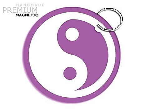 Llavero magnético JCM impresionante diseño Yin Yang, color ...