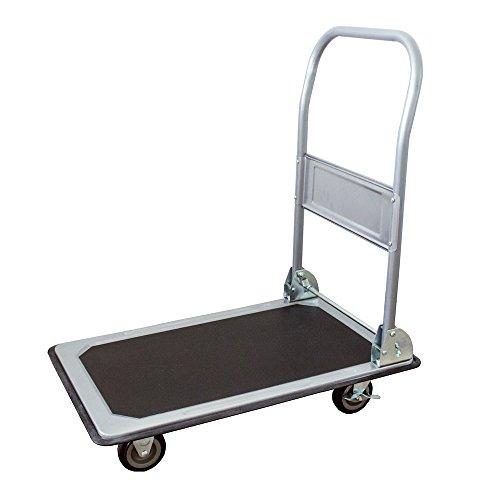 Plattformwagen anthrazit-grau 150 KG
