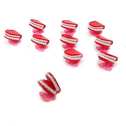 dazzling toys Wind-up Walking Babbling Teeth 12 -