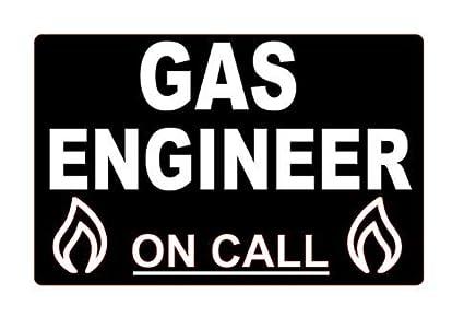 GAS Enginer On Call - Tarjeta de salpicadero de agua caliente para ...
