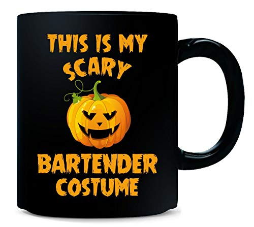 This Is My Scary Bartender Costume Halloween Gift - Mug