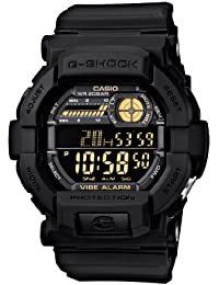 Mens GD350-1B G Shock Black Watch