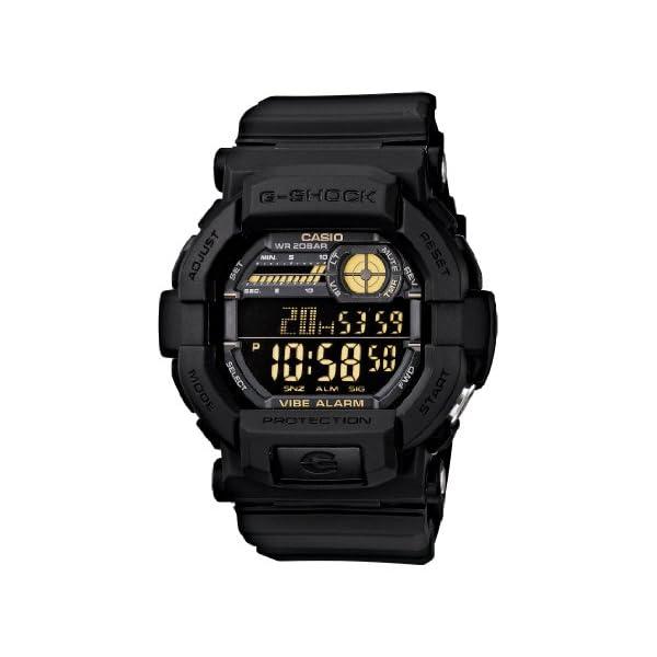 41fHzmVpD2L. SS600  - Casio Men's GD350-1B G Shock Black Watch