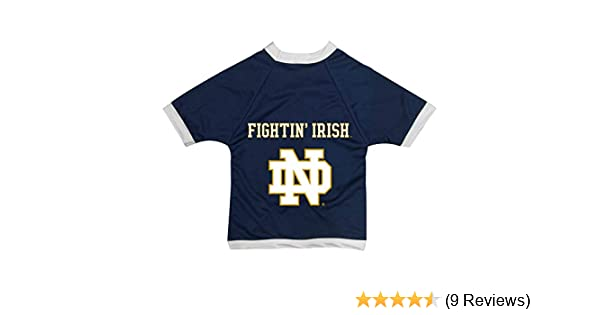 Amazon.com   All Star Dogs NCAA Notre Dame Fighting Irish Athletic Mesh Dog  Jersey   Sports   Outdoors 95dd51100