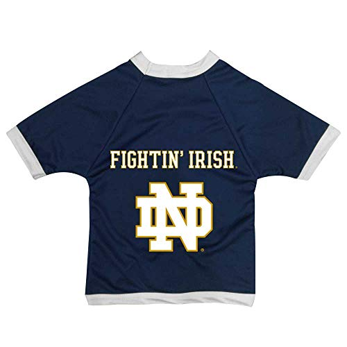All Star Dogs NCAA Notre Dame Fighting Irish Athletic Mesh Dog Jersey, Medium