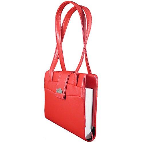 Bagabook, Borsa a secchiello donna rosso rosso 22 x 17.5 x upto 6 cm deep