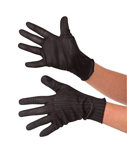 Rubie's Costume Captain America: Civil War Kid's Black Widow Gloves (Girls Black Widow Costume)