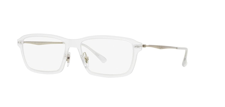 Ray-Ban RX7038 5452 Eyeglasses Matte Transparent MOD. 7038 MOD.7038FRAME545255_5452-55
