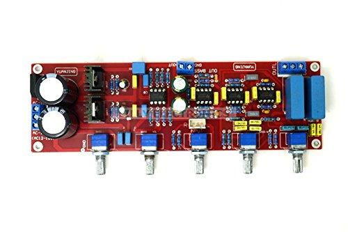 Q-BAIHE NE5532 2.1 Tones Pre-board Preamp Tones Board