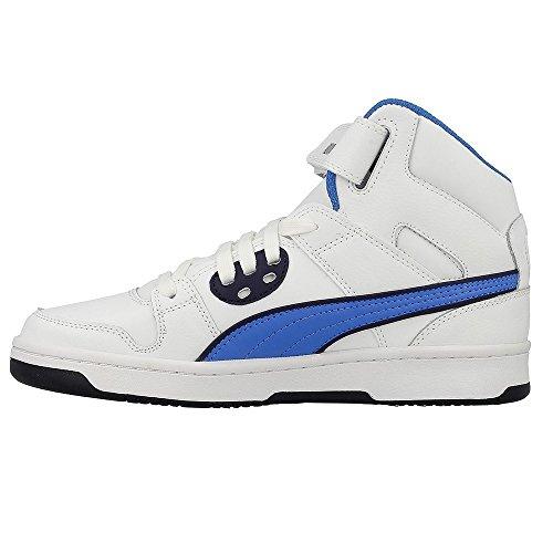Puma - Zapatillas de baloncesto para niño bianco - 009 WHT-BLU