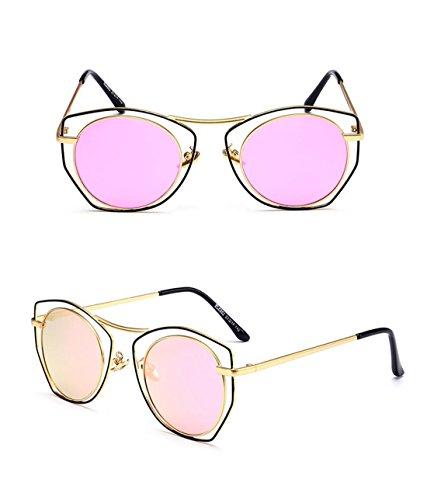 Marco de Gafas GCC Redondo A de Las Retro Gafas Sol aqTURxv