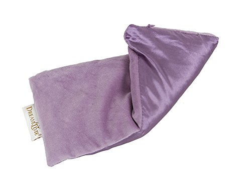 41CbdZCRFDL DreamTime Inner Peace Eye Pillow, Lavender Velvet, Soothing Stress and Headache Relief, Eye Mask Travel Pillow for Wellness and Relaxation