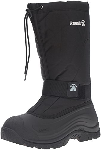 Kamik Men's Greenbay 4 Cold Weather Boot,Black,14 M by Kamik