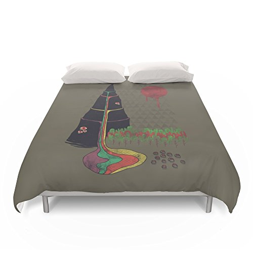 Society6 Holy Mountain Duvet Covers King: 104'' x 88'' by Society6
