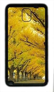 Samsung Galaxy Note 3 N9000 TPU Supple Shell Case Light and Shadow4 Black Skin by Sallylotus