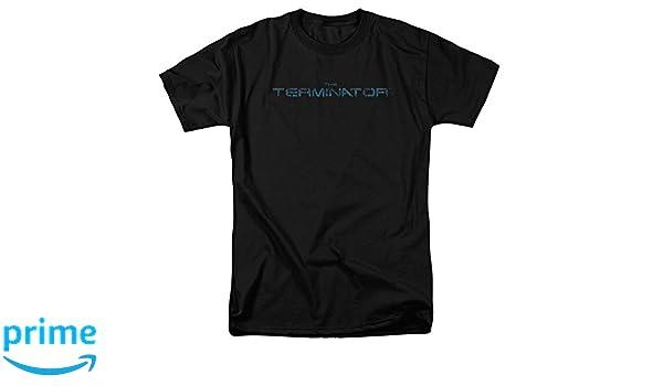 amazon com trevco unisex terminator circuit board logo adult tShirt Circuit Board Logo Adult Black Tee Tshirt Terminator Circuit #2