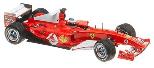 2004 Ferrari Formula One F1 #2 Rubens Barrichello 1:18 Scale Collectible Die Cast Metal Toy Car Model by Hot Wheels B0002HB0R8