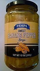 Pampa Sweet Banana Pepper Rings 12 oz ea...