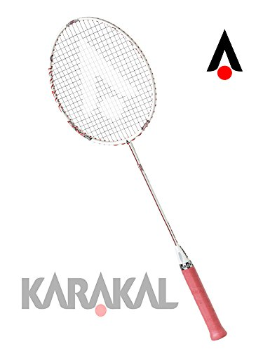 KARAKAL(カラカル) バドミントンラケット S-70 FF KB 1750 ホワイト ホワイト/レッド B0798T4KYS